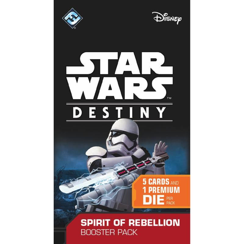 Star Wars: Destiny - Spirit of Rebellion Booster Pack - Thirsty Meeples