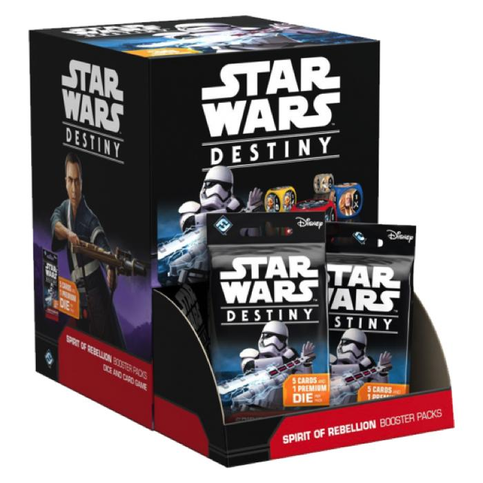 Star Wars: Destiny - Spirit of Rebellion Display Case