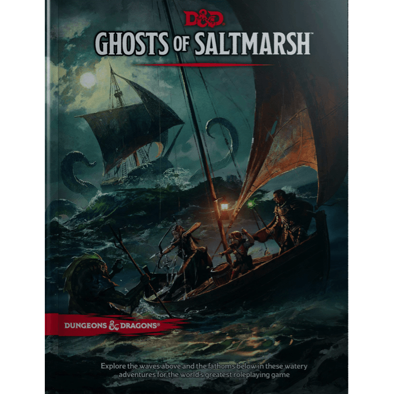 Dungeons & Dragons (5th Edition): Ghosts of Saltmarsh