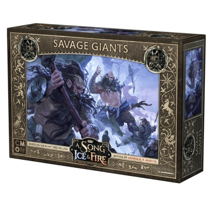 A Song of Ice & Fire: Tabletop Miniatures Game – Savage Giants Unit (PRE-ORDER)
