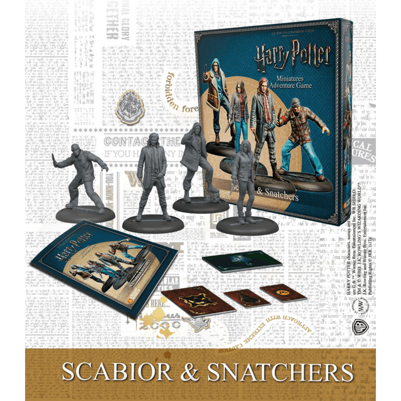 Harry Potter Miniatures Adventure Game: Scabior & Snatchers