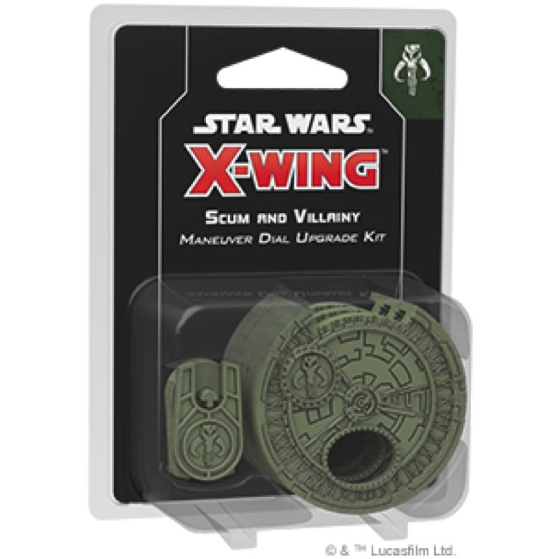 Star Wars: X-Wing (Second Edition) – Scum and Villainy Maneuver Dial Upgrade Kit