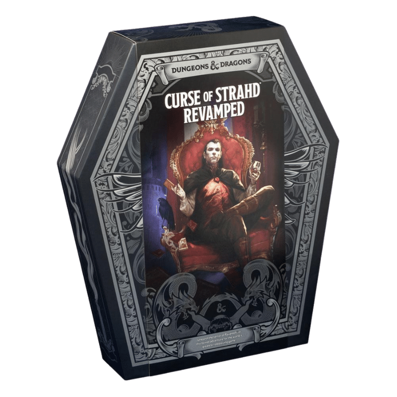 Dungeons & Dragons (5th Edition): Curse of Strahd Revamped (Box Set)