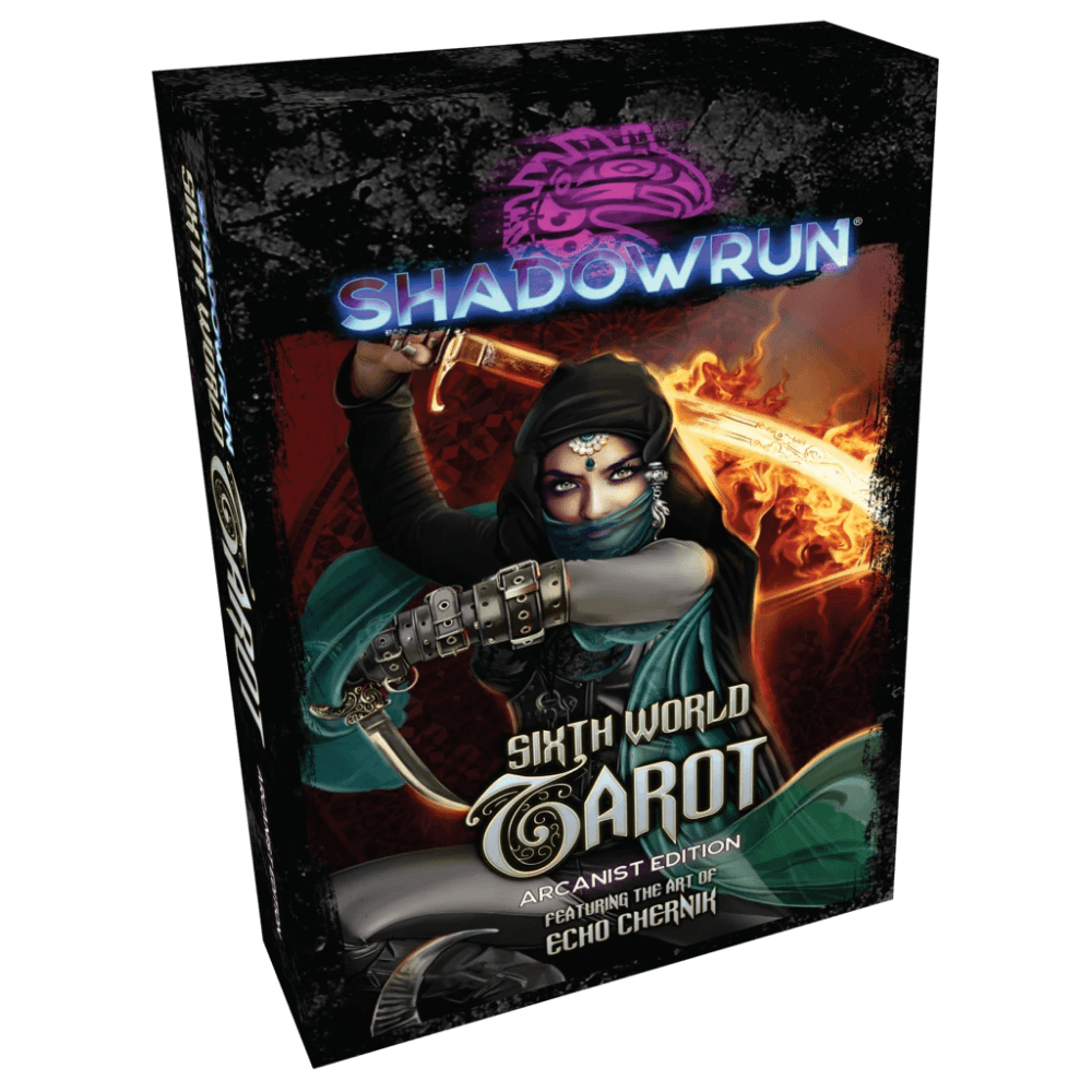Shadowrun RPG: Sixth World Tarot (Arcanist Edition) (PRE-ORDER)