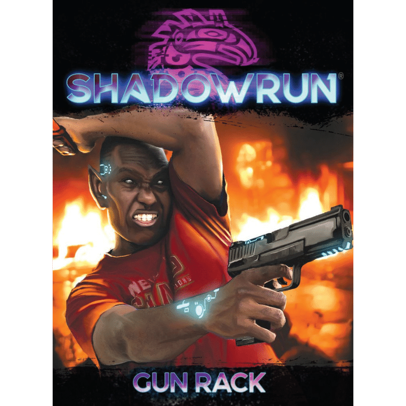 Shadowrun RPG: Gun Rack (Weapon Cards)