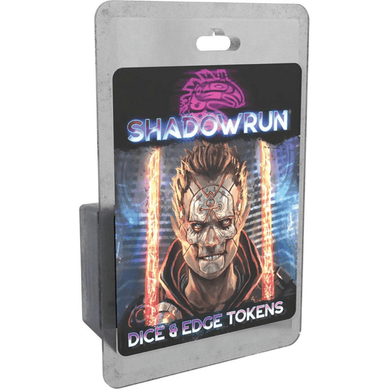 Shadowrun RPG: Dice & Edge Tokens