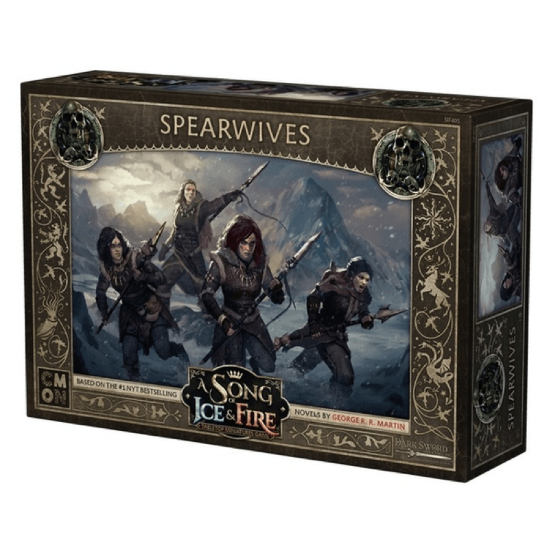 A Song of Ice & Fire: Tabletop Miniatures Game – Spearwives Unit