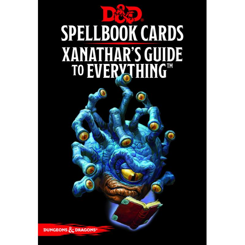 Dungeons & Dragons (5th Edition): Spellbook Cards - Xanathar's Guide to Everything