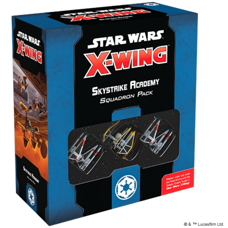 Star Wars: X-Wing (Second Edition) – Skystrike Academy Squadron Pack (PRE-ORDER)