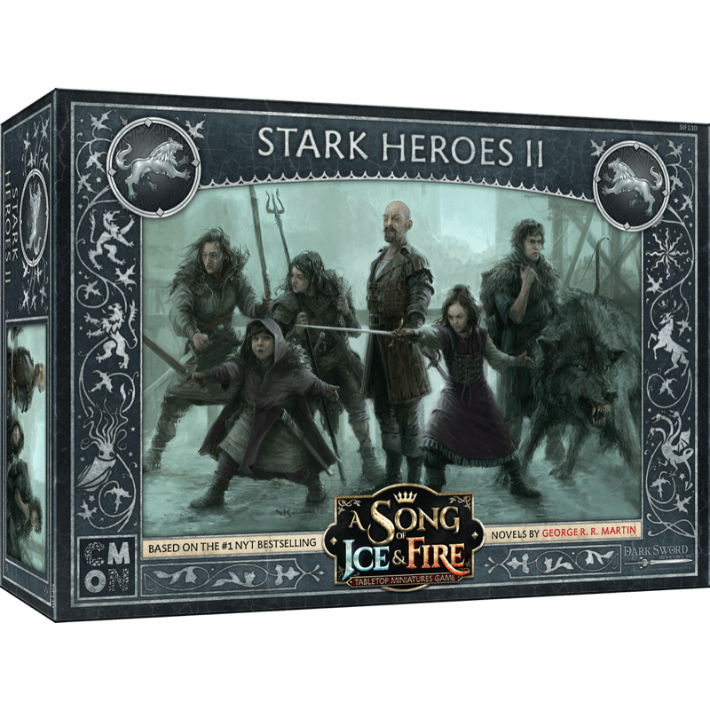 A Song of Ice & Fire: Tabletop Miniatures Game – Stark Heroes II (PRE-ORDER)