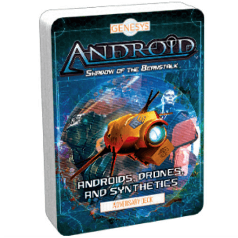 Genesys RPG: Androids, Drones and Synthetics - Adversary Deck