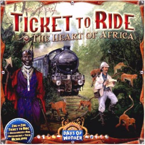 Ticket to Ride Map Collection: Volume 3 – The Heart of Africa - Thirsty Meeples