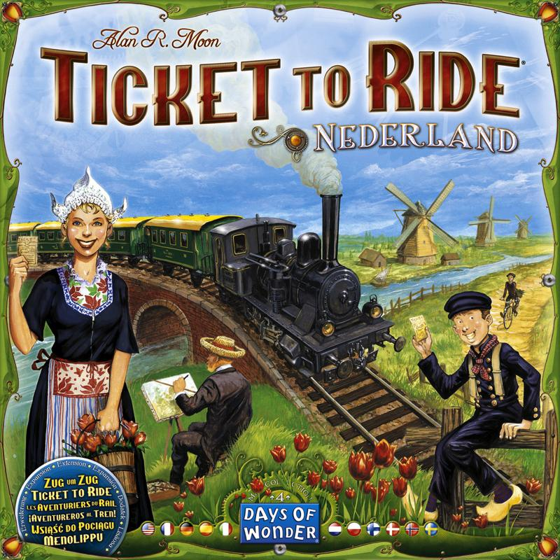 Ticket to Ride Map Collection: Volume 4 - Nederland - Thirsty Meeples