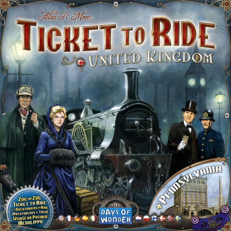 Ticket to Ride Map Collection: Volume 5 - United Kingdom - Thirsty Meeples