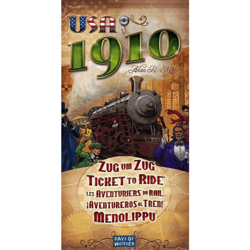 Ticket to Ride: USA 1910 - Thirsty Meeples