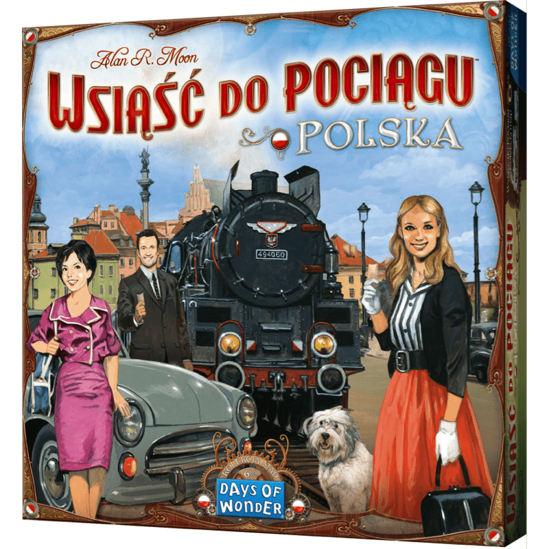 Ticket to Ride Map Collection: Volume 6.5 – Poland