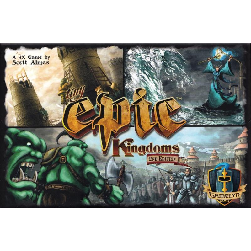 Tiny Epic Kingdoms (2nd edition) - Thirsty Meeples