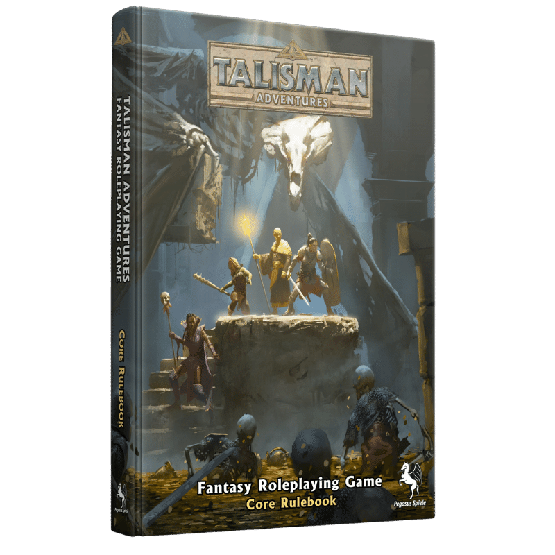 Talisman Adventures RPG Core Rulebook (PRE-ORDER)