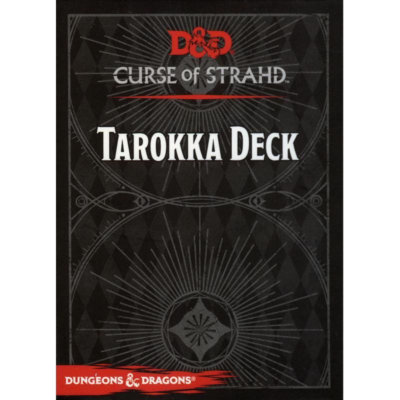 Dungeons & Dragons (5th Edition): Curse of Strahd Tarokka Deck