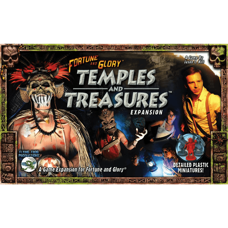 Fortune and Glory: Temples and Treasures (PRE-ORDER)