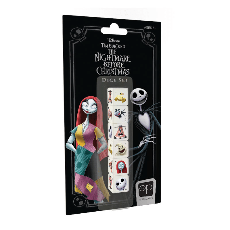 The Nightmare Before Christmas Dice Set (PRE-ORDER)