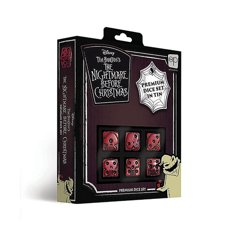 The Nightmare Before Christmas Premium Dice Set (PRE-ORDER)