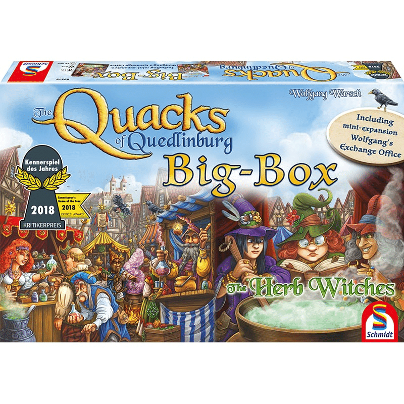 The Quacks of Quedlinburg: Big Box (PRE-ORDER)
