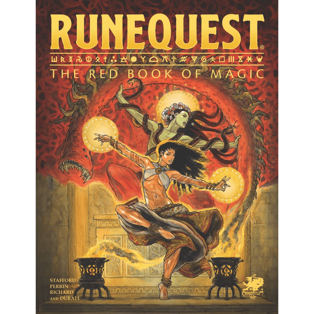 RuneQuest: The Red Book of Magic (PRE-ORDER)