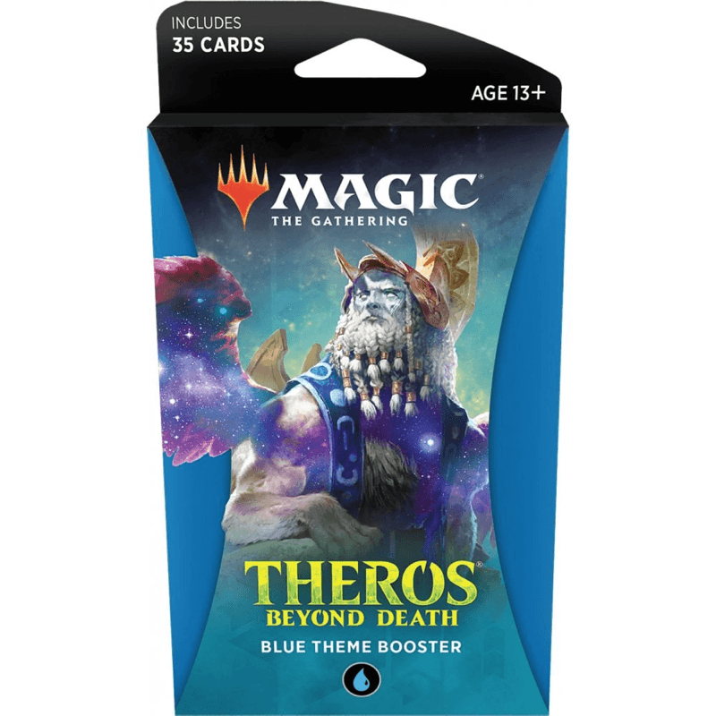 Magic the Gathering: Theros Beyond Death Theme Booster BLUE (PRE-ORDER)