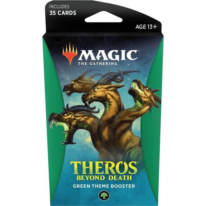 Magic the Gathering: Theros Beyond Death Theme Booster GREEN (PRE-ORDER)