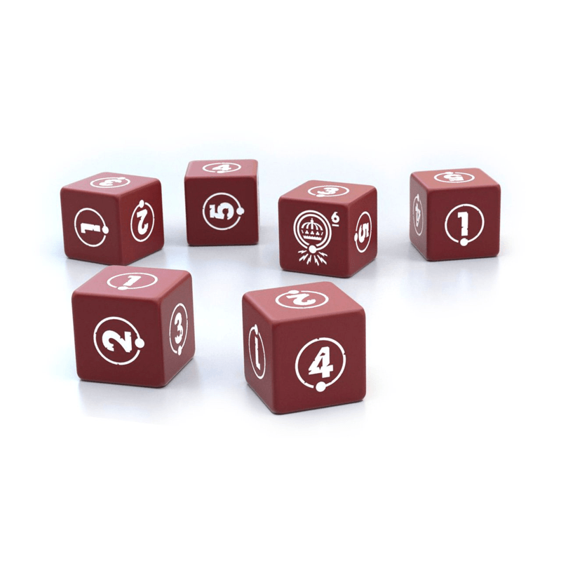 Things from the Flood RPG: Custom Dice Set