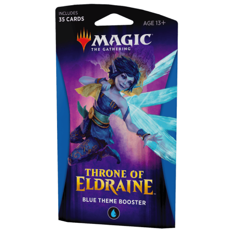 Magic the Gathering: Throne of Eldraine Theme Booster Pack BLUE