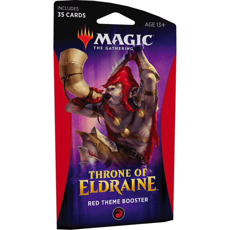 Magic the Gathering: Throne of Eldraine Theme Booster Pack RED