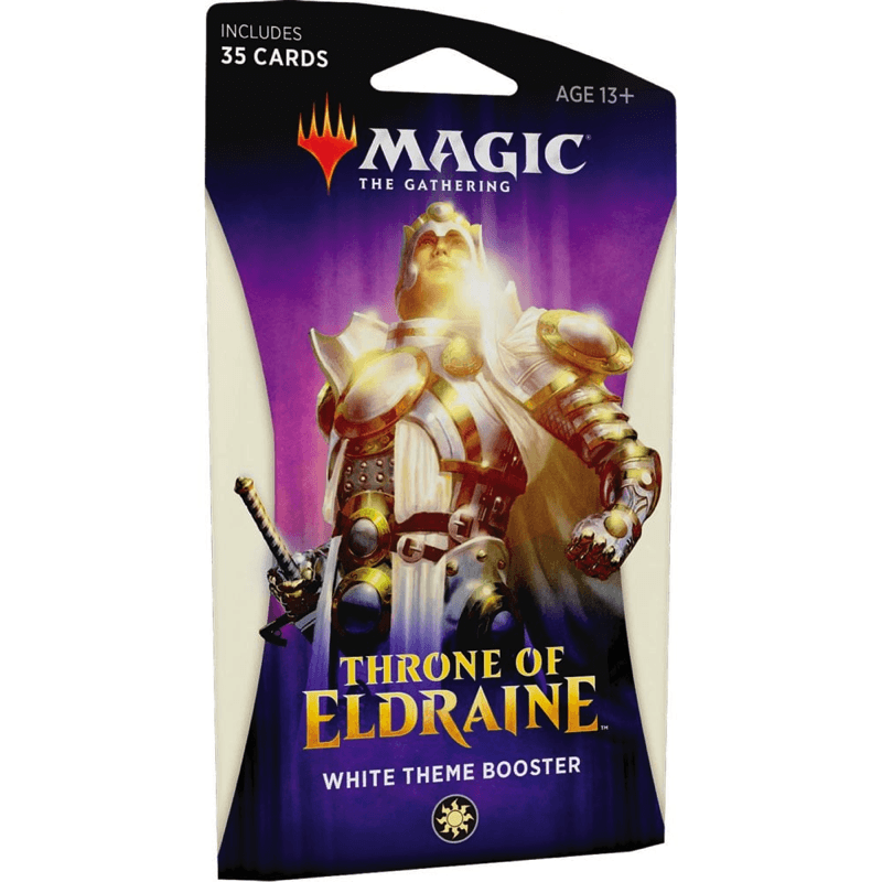 Magic the Gathering: Throne of Eldraine Theme Booster Pack WHITE