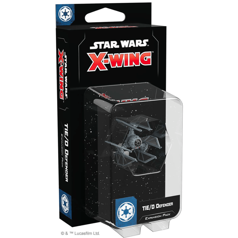 Star Wars: X-Wing (Second Edition) – TIE/D Defender Expansion Pack (PRE-ORDER)