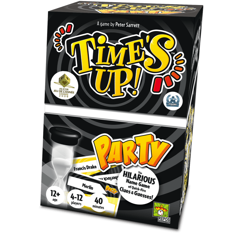Times Up! Party: UK Edition -  Repos