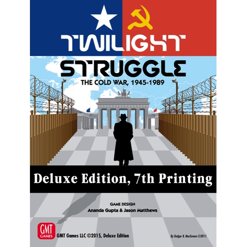Twilight Struggle (Deluxe Edition) - Thirsty Meeples
