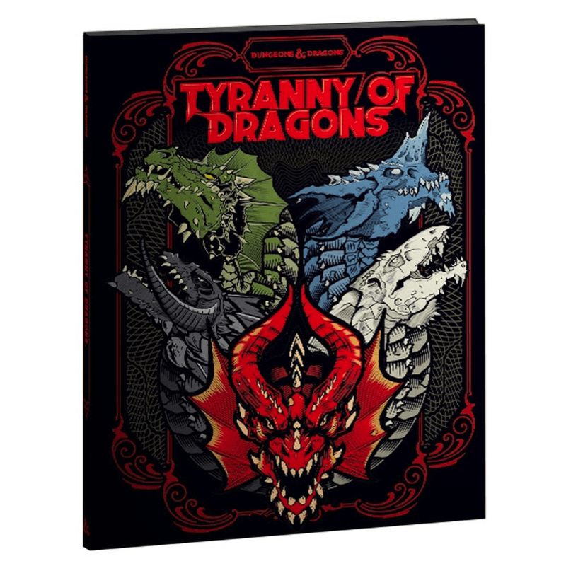Dungeons & Dragons (5th Edition): Tyranny of Dragons - Alternate Cover