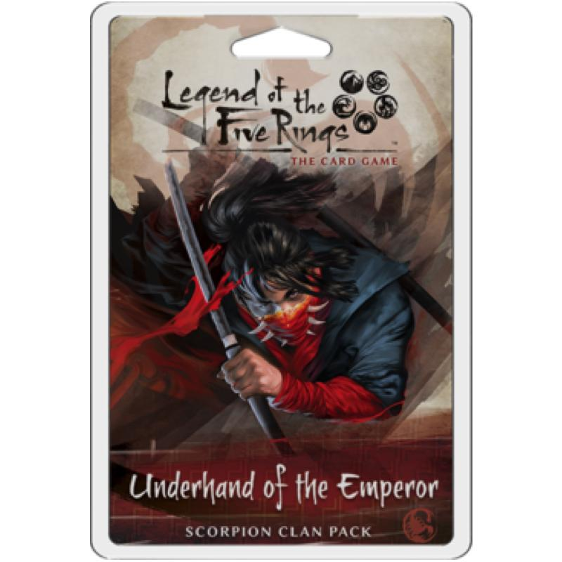 Legend of the Five Rings: The Card Came – Underhand of the Emperor