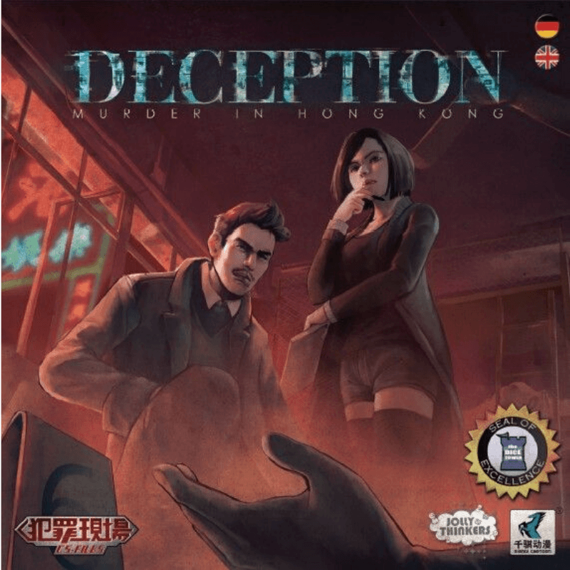 Deception: Murder in Hong Kong - Thirsty Meeples