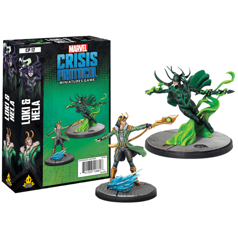 Marvel: Crisis Protocol - Loki and Hela