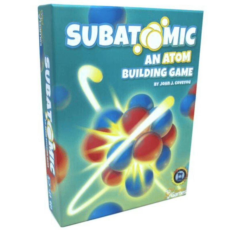 Subatomic: An Atom Building Game (2nd Edition)