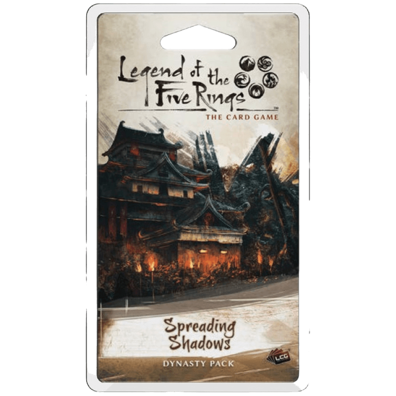 Legend of the Five Rings: The Card Game - Spreading Shadows Dynasty Pack