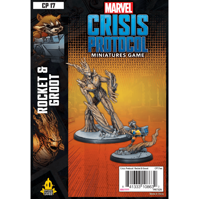 Marvel: Crisis Protocol – Rocket & Groot