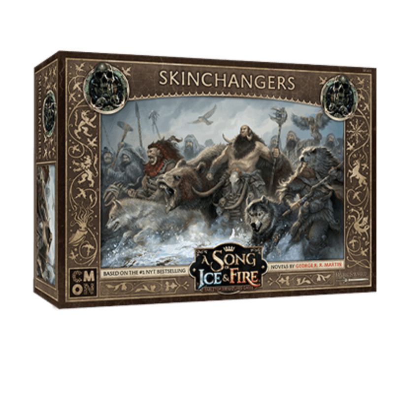 A Song of Ice & Fire: Tabletop Miniatures Game – Free Folk Skinchangers Unit Box