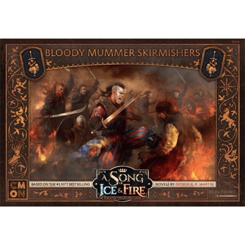 A Song of Ice & Fire: Tabletop Miniatures Game – Bloody Mummer Skirmishers Unit Box