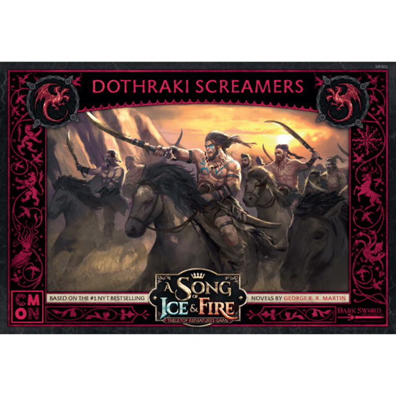A Song of Ice & Fire: Tabletop Miniatures Game – Targaryen Dothraki Screamers Unit Box