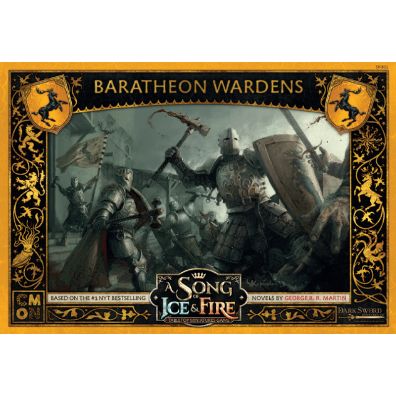 A Song of Ice & Fire: Tabletop Miniatures Game – Baratheon Wardens Unit Box