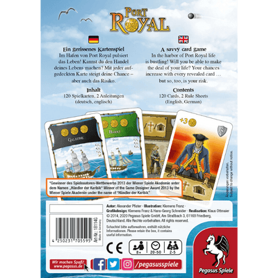 Port Royal - Thirsty Meeples