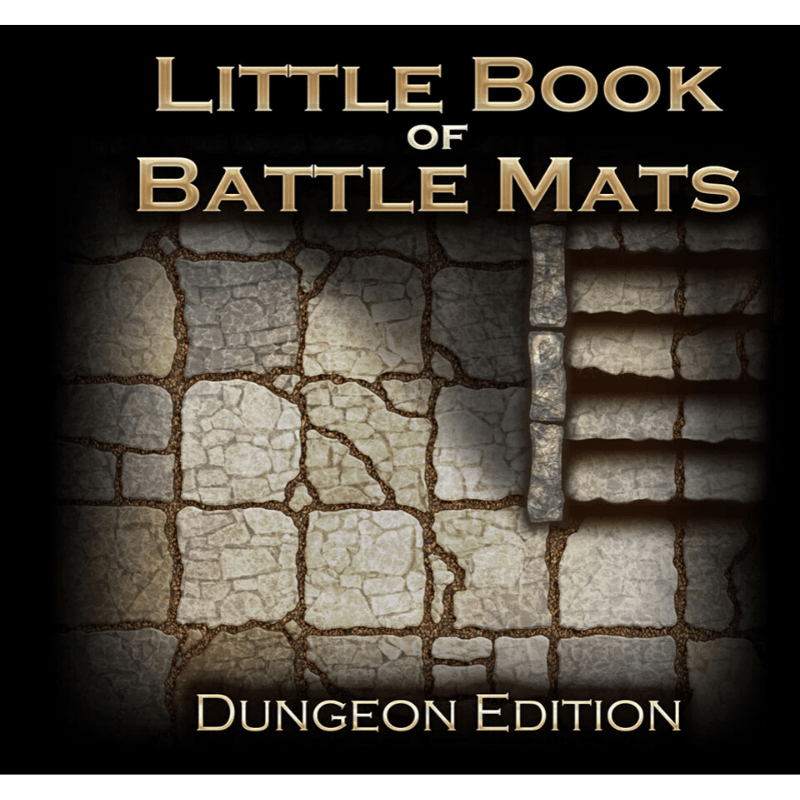 The Little Book of Battle Mats - Dungeon Edition